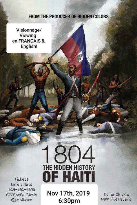 1804 The Hidden history of Haiti! (2nd viewing)